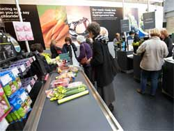 A row is brewing after a cashier at Marks & Spencer refused to handle pork or alcohol when serving a customer. Image: Marks & Spencer