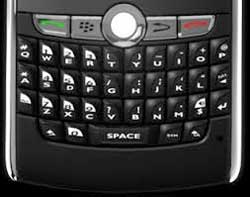 BlackBerry is to sue Typo Products for allegedly copying its keyboard design. Image: