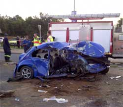 Road accidents killed at least 1,537 people over the festive season. Image: