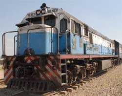 Zambia's battered railway infrastructure will get a boost from plans to open a new line between the copperbelt and Angola. Image: