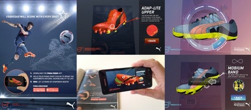 Win with Puma's new augmented reality app