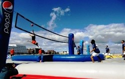 Zinto Sports introduces Bossaball to South Africa