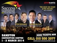 South African Success Summit back at Sandton Convention Centre
