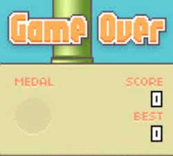 Despite being one of the world's most successful online games, Flappy Birds has been pulled from the shelves. Image: