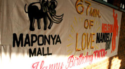 Maponya Mall, Soweto. Township shoppers want quality, not second-rate products, and they also want good service. (Image extracted from the Maponya Mall )