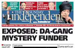(Image extracted from the Sunday Independent website)