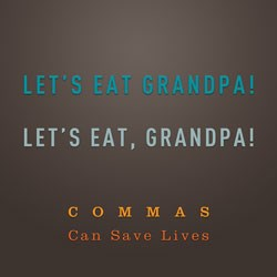 The comma - tough to master and easy to mess up
