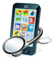 Online monitoring may reduce the number of visits to doctors or hospitals. Image: