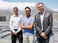 Sean Cowgill, quantity surveyor and director De Leeuw Group, Rashiq Fataar, CEO Future Cape Town and Simon Gill, associate director Arup.