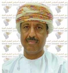 Oman's Finance Minister Darwish al-Balushi. Image: Oman Air