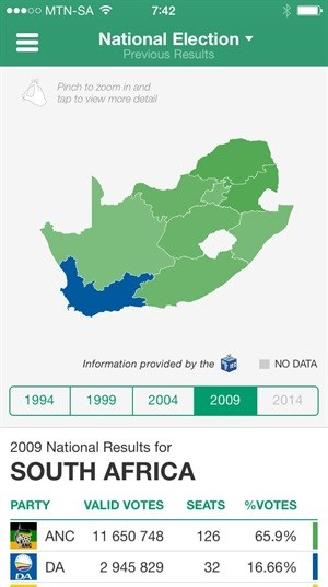 News24 rolls out groundbreaking interactive election results maps