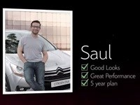 Campaign links dating profiles with Citroën DS4 for a night out