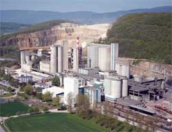One of Holcim's many cement plants around the world. The company has confirmed it is in merger talks with Lafarge. Image: