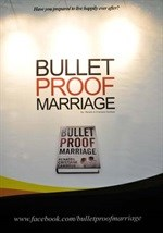 Overwhelming interest in Bulletproof Marriage: Your shield against divorce at the Wedding Expo