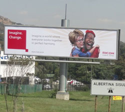 New Ricoh campaign uses light-hearted political humour