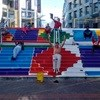 Clock Tower's steps at V&A Waterfront transformed