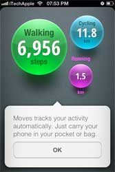 Facebook has bought the fitness tracking app, Moves for an undisclosed sum. Image: