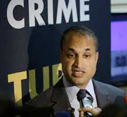 Interpol's Sanjay Virmani says 'sextortion' is a growing problem in all areas around the world. Image: