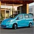 Nissan new e-NV200 electric car