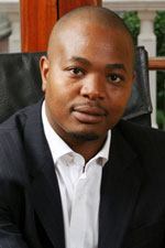 PowerFM's Given Mkhari: No plans to sell. (Image extracted from the PowerFM website)