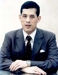 Crown Prince Maha Vajiralongkorn has not go widespread popular support from the Thai people Image: