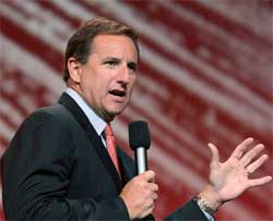 Oracle's President Mark Hurd says the purchase of Micros Systems will boost profitability immediately. Image:
