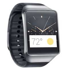 Samsung's new Gear Live smartwatch is available for pre-order but will only be released in July. Image: