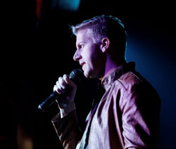 Gareth Cliff at the launch of CliffCentral in May.