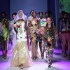 Flash of Fassler at Mercedes-Benz Fashion Week