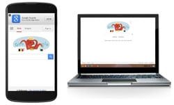 Google's mobile and desktop search engines.