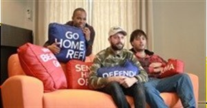 World's first tweeting couch laid out for football fans