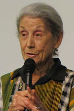 Nadine Gordimer, who only recently came to say we have to , has died. (Image: , via Wikimedia Commons)