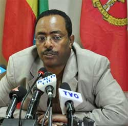 Ethiopia's Communications Minister Redwan Hussein maintains the detention of Zone9 members is legal and is not an attempt to silence the government's critics. Image: