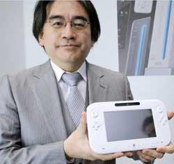 Nintendo's Satoru Iwata slashed his salary by 50% in January to atone for the company's poor performance. But Ninetendo still reported a loss of $97m in the June quarter. Image: