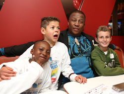 'Slipper Day' stickers available at all Wimpy outlets countrywide