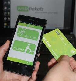 Webtickets goes cashless with NFC payment system