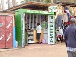 An Mpesa agency in Nairobi. Image: