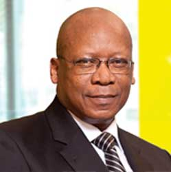 With revenue from voice calls declining for MTN in South Africa, Chief Executive Sifiso Dabengwa is keen to drive up data usage particularly among high-worth South Africans. Image: MTN