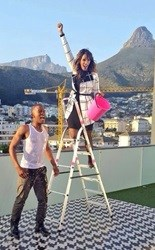 Katlego Maboe joins Ice Bucket Challenge in South Africa