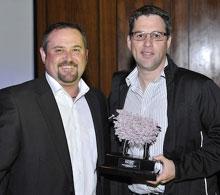 Jedd Cokayne (The MediaShop) and Gustav Goosen (The SpaceStation)