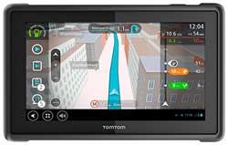 The TomTom Pro 8275 that provides fleet operators with more control and information for trucks that are on the road. Image: TomTom
