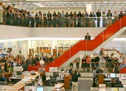 At least 100 journalists will lose their jobs at the New York Times as it struggles to reduce costs amid falling advertising revenue and competition from online news publications. Image:
