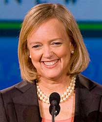 HP's Meg Whitman says that the division of the company will create two highly-focused companies that will benefit shareholders. Image: Wikipedia