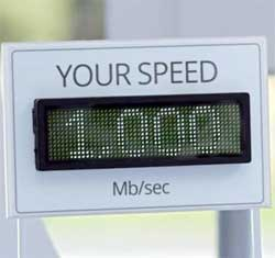 Internet speeds of up to a 1,000 megabits per second will soon be a reality and will also be affordable. Image: