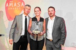 Roger Garlick Winner 2014 Fiona Brauns of The Media Shop