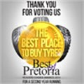 "Pretoria residents vote Tiger Wheel & Tyre ""The Best Place to Buy Tyres"""