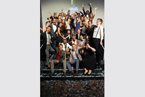 All the Pendoring winners pose for one last picture after a highly successful Pendoring Advertising Awards gala evening. The Awards were held on 24 October at Vodacom World in Midrand.