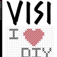 Cross-stitch a magazine cover? That's VISI for you!