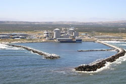 Nuclear power stations such as Koeberg take many years to build, cost a fortune, and repairs cost a fortune, and if there is a major fault, there can be environmental damage. (Image: Eskom)