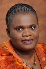 Faith Muthambi: Negative stories about the continent scare away investors. (Image: GCIS)